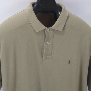 261f8261 Polo by Ralph Lauren Shirts - Polo Ralph Lauren Polo Shirt Tan w/ Brown  Horse